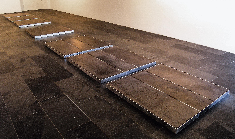 Rauminstallation, 800/100/5 Galerie zur Grünen Tür, Uznach 2005